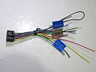 Original Kenwood Kdc 230u Wire Harness New Oem W6 45079402751 Ebay