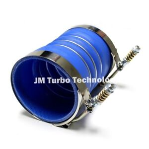 """4"""" 4-Ply Silicone Charge Air Cooler CAT Turbo Coupler Hump Hose With Clamps Hot"""