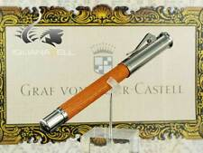 Graf von Faber-Castell Classic Rollerball pen, Pernambuco wood, Platinum,145510