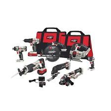 Porter-Cable 20V MAX Li-Ion 8-Tool Combo Kit PCCK619L8 New