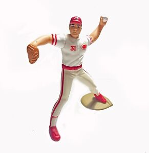 1989 Starting Lineup John Franco Cincinnati Reds Baseball  - SLU - MLB