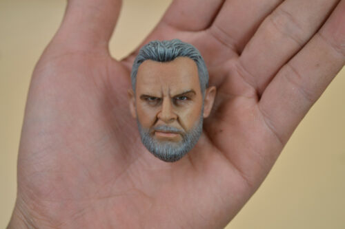 Custom 1//6 Scale Head Sculpt Bearded Sean Connery For 12' Male Hot Toys