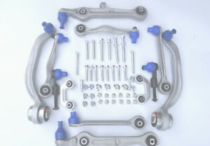 FRONT-SUSPENSION-WISHBONE-TRACK-CONTROL-ARMS-LINKS-KIT-FOR-VW-PASSAT-B5-96-05