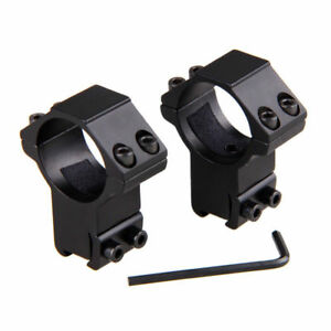 1pair-30mm-High-Profile-Sight-Ring-11mm-Dovetail-Rifle-Hunting-Torch-Scope-Mount