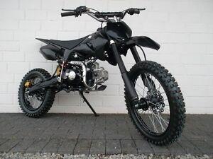 Dirtbike-Pitbike-125ccm-Crossbike-Kinder-Cross-Motocross-Enduro-4-Takt-Motor