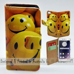 For-OPPO-Series-Smiley-Face-Theme-Print-Wallet-Mobile-Phone-Case-Cover
