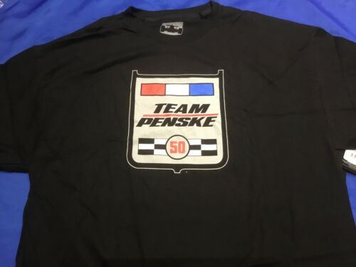 Indianapolis Indy 500 TEAM PENSKE 50th Anniversary T-Shirt NWT $