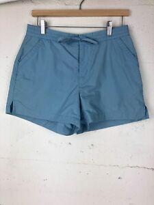 Banana-Republic-Women-s-Size-6-Light-Blue-Draw-String-Shorts