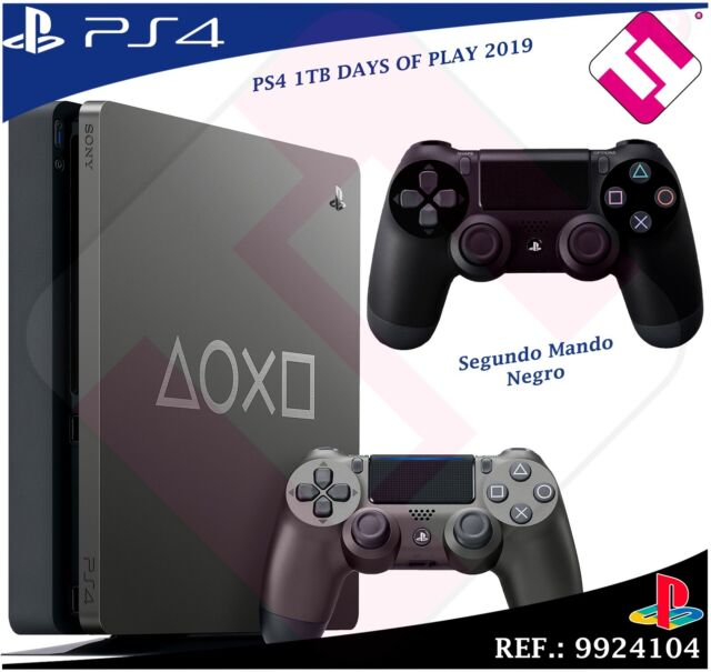Days Of Play PS4 1TB 2019 PLAYSTATION 4+ Controller Dualshock Colour Black 100%