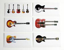 Jimmy Page's Guitars, Pack of 6 Greeting Cards, DL size