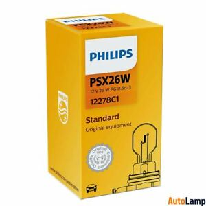 PHILIPS-PSX26W-Standard-Halogen-DRL-Light-12V-26W-PG18-5d-3-12278C1-Single