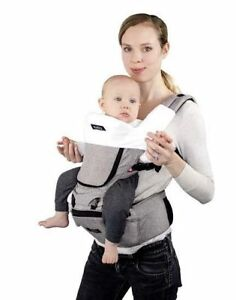 fa7aa3a1d8a MiaMily Hipster Plus 6 in 1 3d Baby Carrier Stone Grey 1 Size Fits ...
