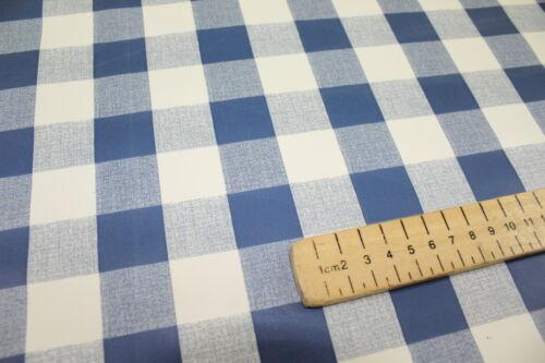 Traditional vichy nappe largeur 140cm facile à nettoyer toutes les couleurs et tailles