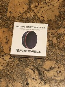 Freewell Neutral Density ND4 Camera Lens Filter Compatible with DJI Osmo Action Camera