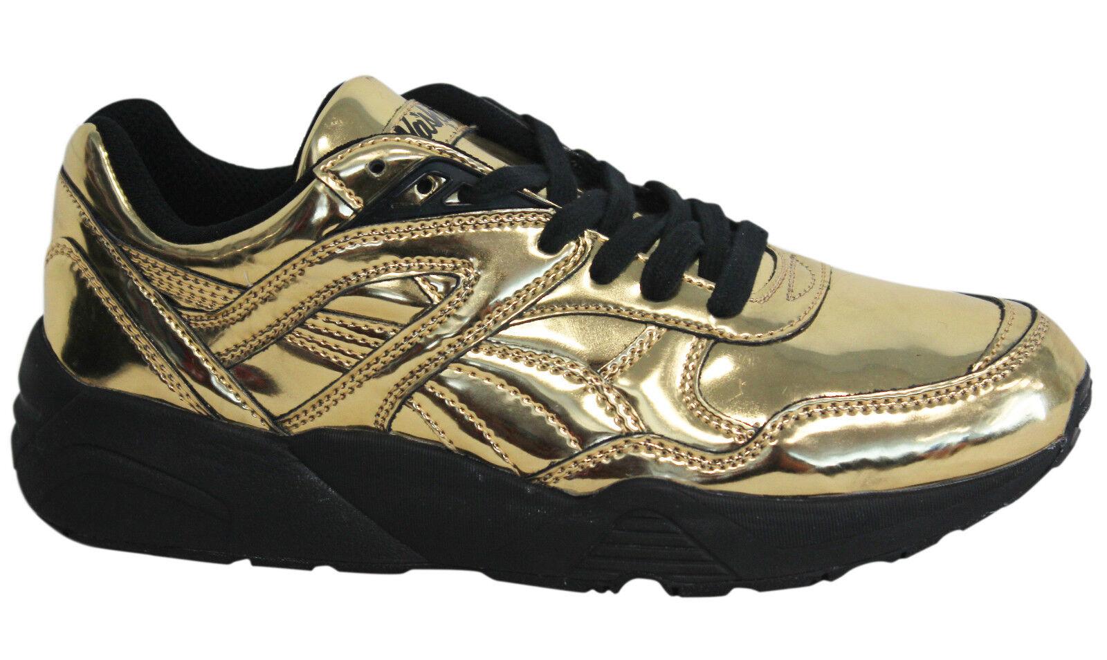 Puma Trinomic R698 X Vashtie Zapatillas Hombre Zapatos con Cordones bajo Dorado