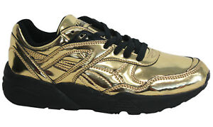 puma trinomic gold