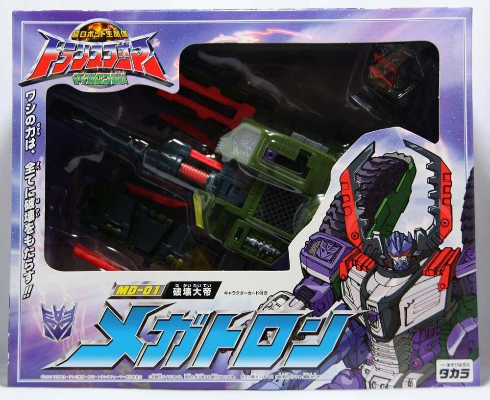Takara Transformers Micron leyenda MD-01 Armada Megatron (versión Japón)