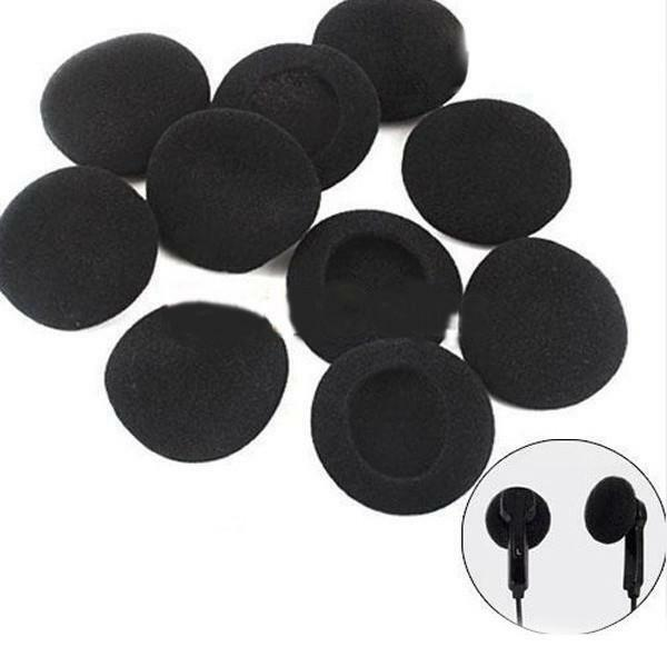 20 Pcs Portable Soft Sponge Foam Headphones Earphone Cover Ear Pad Caps
