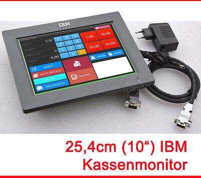 """10 """" Mini Ibm Pos Monitor 800x600 Con 4820-1fr 12v Rete Economico Bisogni 8 W Per Prevenire E Curare Le Malattie"""