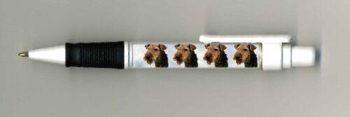 Welsh Terrier Dog Design Retractable Acrylic Ballpoint Pen Handmade by Starprint