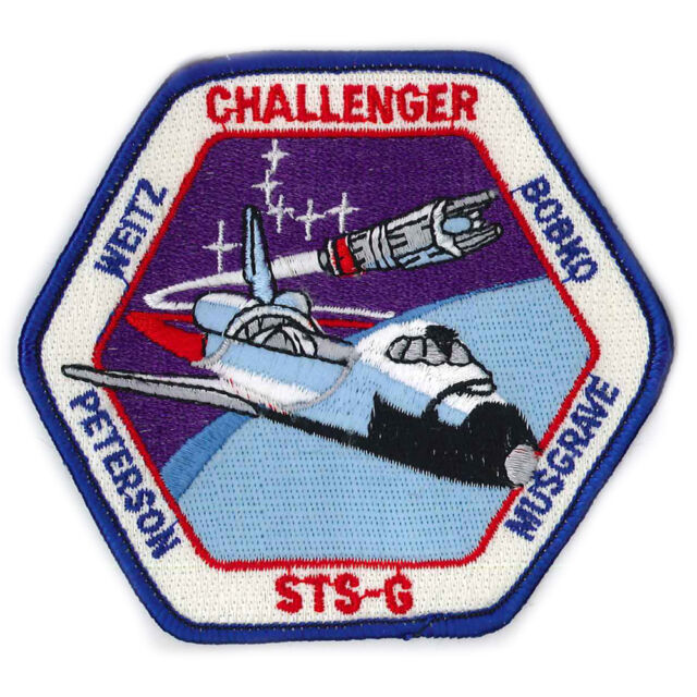 Patches Patches Application 9,5 cm Space 16 Challenger 00627