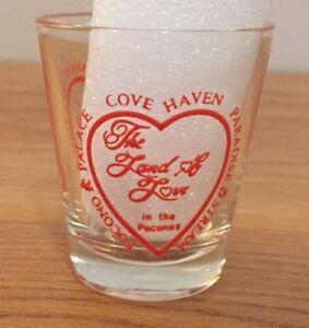 Pocono-Palace-Cove-Haven-Paradise-Stream-The-Land-of-Love-shot-glass-PA