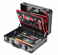 Werkzeugkoffer Professional Schreiner Holz 120-teilig Werkzeugset Werkzeuge