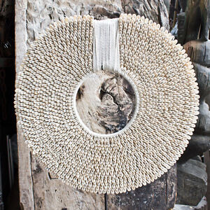 Papua New Guinea Big Shell Necklace Handmade Art Original Home Decor Indonesia Ebay