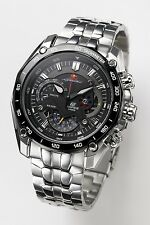 New Men's Casio Edifice EF-550RBSP-1AV Sport Red Bull Chronograph Watch