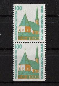 Berlin-834-C-D-postfrisch-senkrechtes-Paar-Sehenswuerdigkeiten-aus-MH-15-SWK