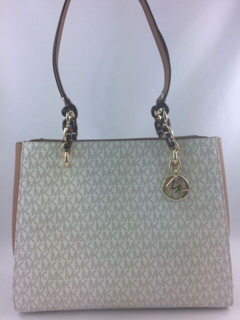 fffb900bdbd8 New Authentic Michael Kors Sofia Large Tote Shoulderbag Handbag  Vanilla Acorn