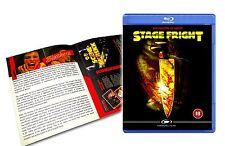 StageFright (1987, aka Aquarius) Blu-ray + DVD - classic slasher - New