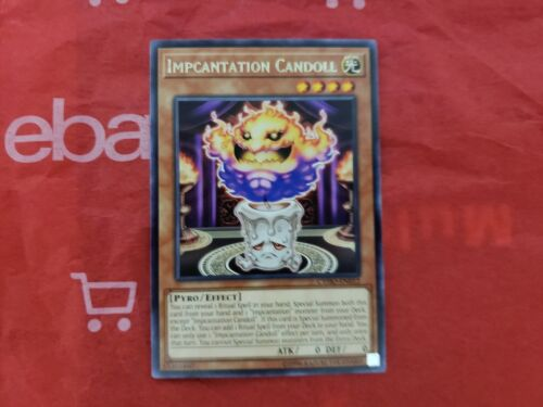 Yugioh Impcantation Candoll CYHO-EN012 Rare Unlimited Edition Near Mint