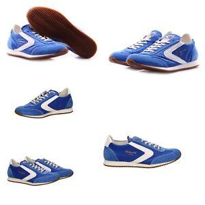best website 818b3 7784b Dettagli su Sneakers scarpe uomo VALSPORT 1920 mod.SOFT Royal/Bianco P/E19  Listino 195€