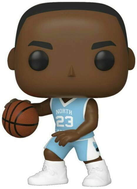 Michael Jordan Unc Away Jersey Toy New - Funko Pop Basketball:
