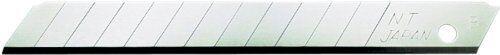 NT Cutter 9mm Snap-Off Blades, 10-Blade/Pack, 1 Pack (BA-160)