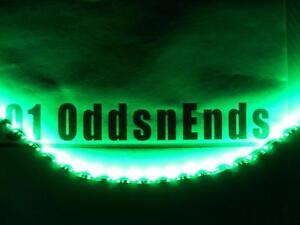 Image Is Loading Green Waterproof Black Pcb 3528 Led Light Strips