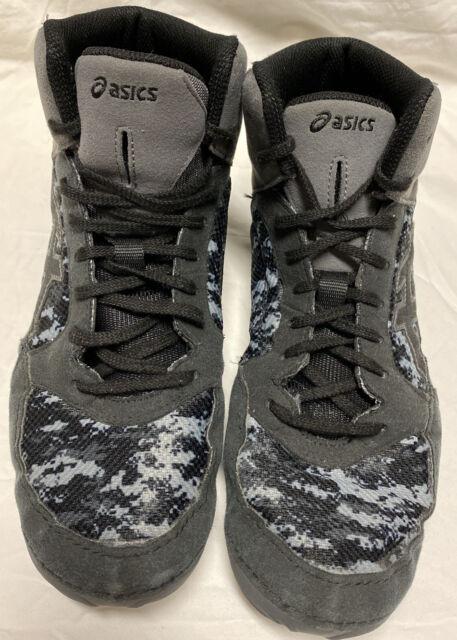 J703J Mens Size 12 Wrestling Shoes Gray