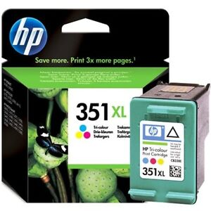 ORIGINAL-amp-SEALED-HP351XL-TRICOLOUR-CB338E-INK-CARTRIDGE-SWIFTLY-POSTED