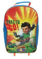 Tree Fu Tom 'Tree Go' School Travel Trolley Roller Wheeled Bag Brand New Gift