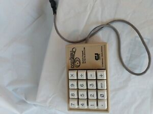 Vintage Cardco Cardkey Numeric keypad for the VIC-20 & C-64 Commodore 64 Clean