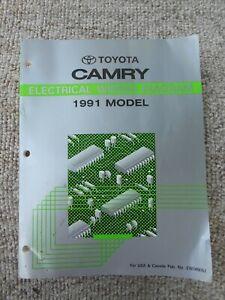 1991 Toyota Camry Electrical Wiring Diagram Repair Manual ...