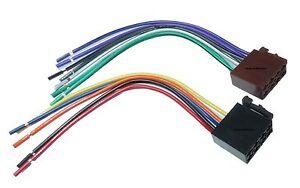 Autoradio ISO Auto Radio Stecker Adapter Kabel Strom Lautsprecher ...