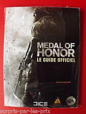 MEDAL of HONOR GUIDE Stratégique Officiel Pour PS3, XBOX360 et PC - NEUF -