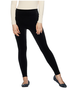 ab2230dd95cd4f Image is loading Spanx-Black-Velvet-Leggings-Size-2x-NEW-WITH-