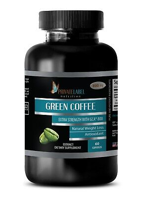 Green Coffee Bean Extract Gca 800 Detoxify Your Body Fat Burner