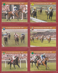 GDS  CARDS  -  SET  OF  L 20  2000  GUINEAS  WINNERS  1981 - 2000  -  2005