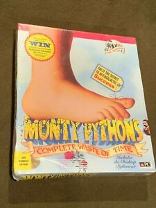 PC-Computer-Video-Game-Monty-Pythons-Complete-Waste-of-Time-NEW-MIP-Sealed