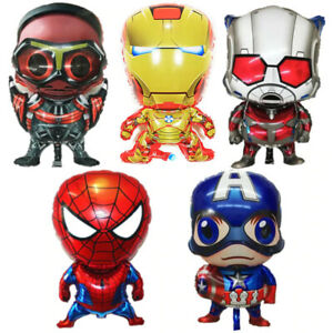 Ironman Spiderman Hulk cute birthday party kids gifts Avengers Paperclips