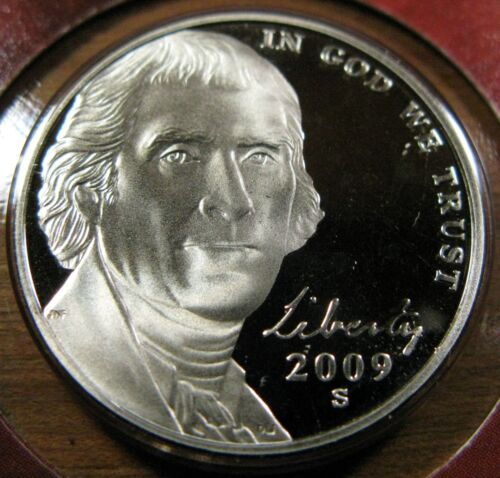 2009 S Jefferson Nickel 1 Deep Cameo Proof Coin From New Stock